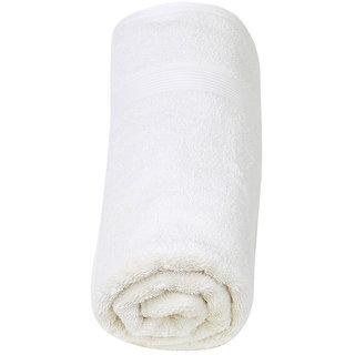 Super Quality Cotton Bath Towel - White