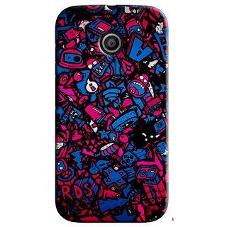 Saledart Designer Mobile Back Cover For Motorola Moto E Motoekaa253 MOTOEKAA253