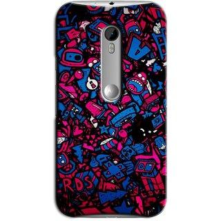 Saledart Designer Mobile Back Cover For Motorola Moto G3 (3Rd Gen) Motog3Kaa253 MOTOG3KAA253
