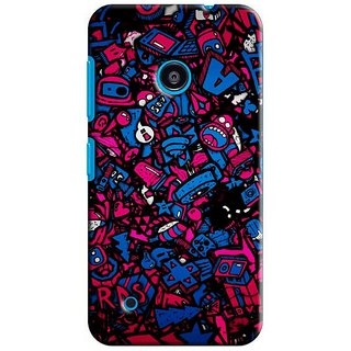 Saledart Designer Mobile Back Cover For Microsoft Nokia Lumia 530 Nl530Kaa253 NL530KAA253