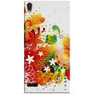 Saledart Designer Mobile Back Cover For Huawei Ascend P6 Hap6Kaa258 HAP6KAA258