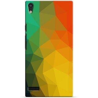 Saledart Designer Mobile Back Cover For Huawei Ascend P6 Hap6Kaa273 HAP6KAA273