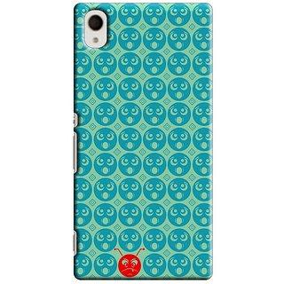 Saledart Designer Mobile Back Cover For Sony Xperia M4 Sxm4Kaa27 SXM4KAA27