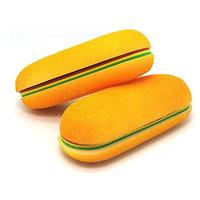 Hot Dog Shape Memo Pad Gum Binding Bread Writing Note Notepad