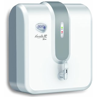 HUL Pureit Marvella Slim RO 4 L Water Purifier (White and Grey)