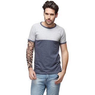 d18b2dc416 Buy Campus Sutra Half Sleeve Grey T-Shirt For Men Online - Get 36% Off