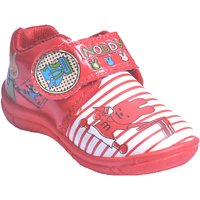 ATERNA (ATN)  RED Colour VELCRO SHOES  For Kids Article MERCURY