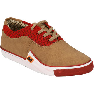 Hnt Men Beige Casual Shoes (JD080-BEG)