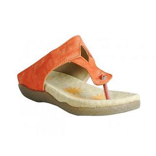 Casual Slipper in Orange