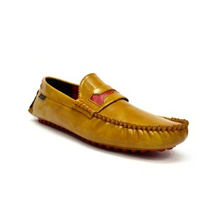 Zoot24 MenS Tan Casual Loafers (D103DAMOCH8)
