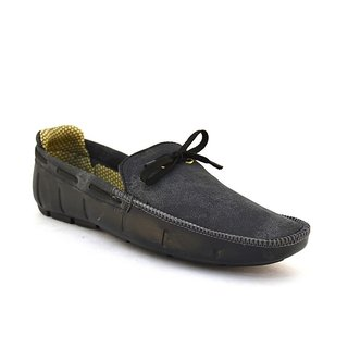 Zoot24 MenS Grey Casual Loafers (VALLEY-K4002-GREYBLACK)