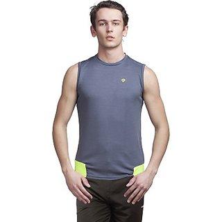 Gypsum Solid MenS Round Neck T-Shirt GYPMCS-00122