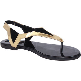 Kraft Cellar Women's Black Flats
