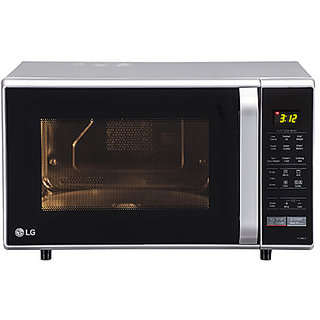 Lg Mc2846sl 28 Litre Convection Black Silver Microwaves