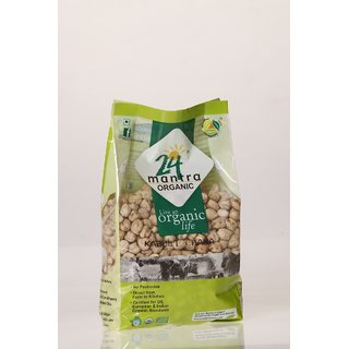 24 Mantra Kabuli Chana (White Chick Peas 500 Gms