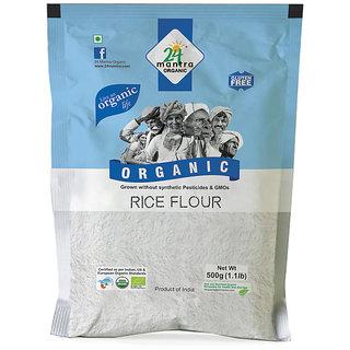 24 Mantra Ragi Flour 500 Gms (Pack Of 2)