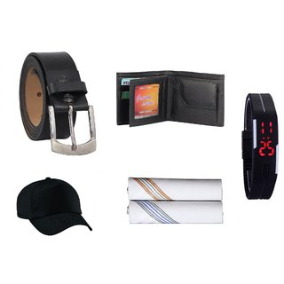 Fashno Combo of 5 in 1 Mens Exclusive Premium Accessories(FC-148)