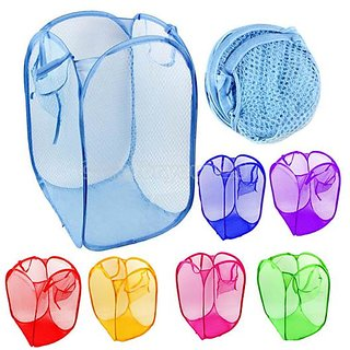 Set Of 02 Attractive Foldable Laundry Bag