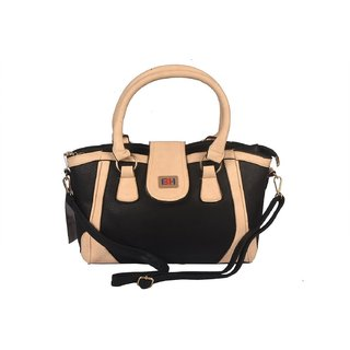 Women Black Hand Bag, Formal Office Bag