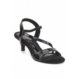 La Mere Women's Black Heels