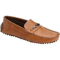 Wave Walk MenS Tan Casual Loafers (WHATSAPP-TAN)
