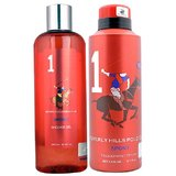 BHPC Sport No 1 Gift Set Shower Gel 250 Ml And Deodorant 175 Ml - For Men
