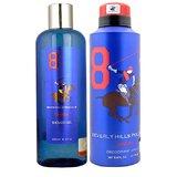 BHPC Sport No 8 Gift Set Shower Gel 250 Ml And Deodorant 175 Ml - For Men