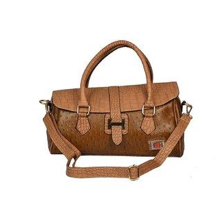 Women Brown Shoulder Hand Bag