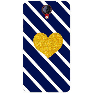 HI5OUTLET Premium Quality Printed Back Case Cover For Micromax Canvas Nitro 4G E455 Design 11