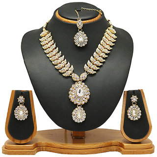 Diamond Necklace jewellery Set