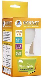 Wipro 7 W LED Garnet Bulb