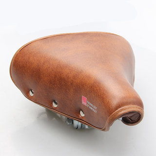 Vintage Bicycle Saddle Retro Riveted Cycling Saddle Seat Bike Comfortable Durable Seat Cover Bike Accessories bicicleta