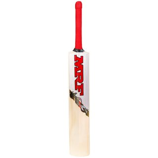 MRF Street Fighter Poplar Willlow Cricket Bat, Short Handle