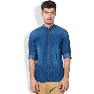 amazing selection hot sale online new styles Highlander Men's Blue Casual Shirt