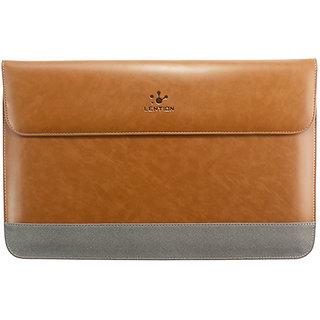 LENTION Premium Leather Bag Sleeve Case Apple Macbook 13 Inch Pro Air  Retina