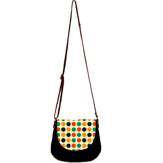 Barisa Epic Multicolor Canvas Cloth Casual Sling Bag - BESB65