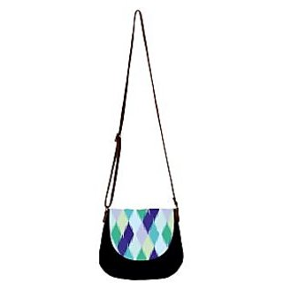 Barisa Epic Multicolor Canvas Cloth Casual Sling Bag - BESB69
