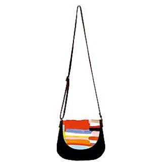 Barisa Epic Multicolor Canvas Cloth Casual Sling Bag - BESB75