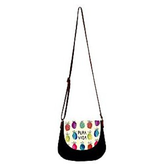 Barisa Epic Multicolor Canvas Cloth Casual Sling Bag - BESB93