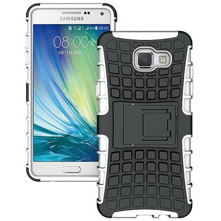 Heartly Flip Kick Stand Spider Hard Dual Rugged Armor Hybrid Bumper Back Case Cover For Samsung Galaxy A5 (2016) - Best