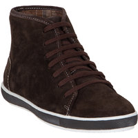 Numero Uno MenS Brown Casual Lace-Up Boots (NUSM-457-BROWN)
