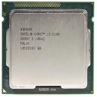 Intel Core i3-2100 3.1GHz 5GT/s 2x256KB/3MB L3 Socket 1155 Dual-Core CPU