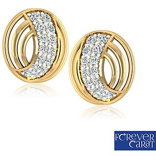 0.43ct Natural Diamond Earring Stud 14k Hallmark Gold Earrings ER-0123