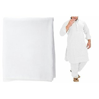 8b2707bfdf Buy ROYAL MENS PATHANI KURTA SALWAR ALL OVER FABRIC WHITE LINEN 5 ...