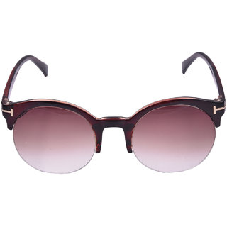 Lens Brown clubmaster Wayfarer Sunglasses-LCW-0409