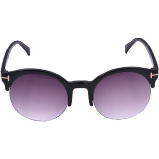 Lens Purple Clubmaster Wayfarer Sunglasses-LCW-0411