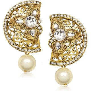 Meenaz Traditional Earrings Fancy  Daimond Earrings For Women - T369