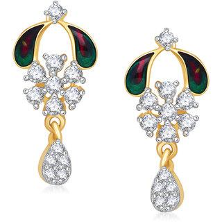 Meenaz Traditional Earrings Fancy  Daimond Earrings For Women - T384