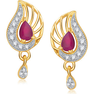 Meenaz Traditional Earrings Fancy  Daimond Earrings For Women - T386