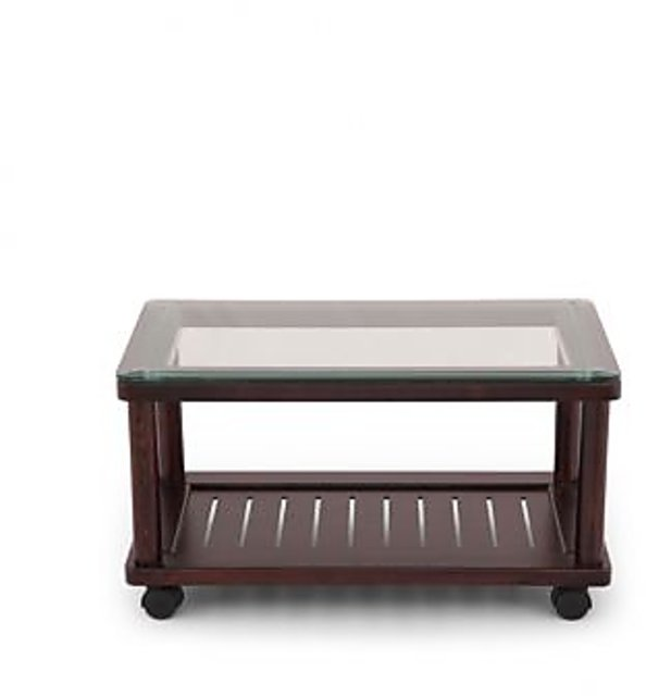 Buy Wooden Tea Table With Glass Top Online 7999 From Shopclues